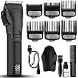 Best Mens Hair Clippers - Professional Hair Clippers for Men - Cordless Barber Review