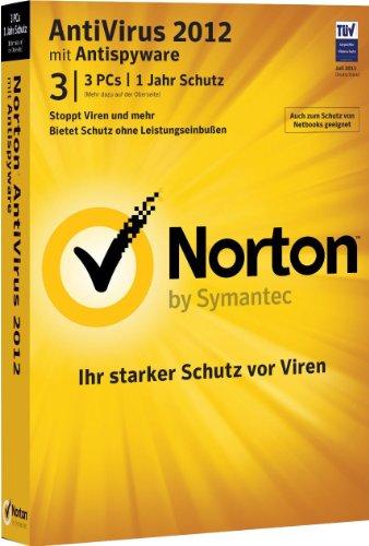 Norton AntiVirus 2012 - 3 PCs [import allemand]