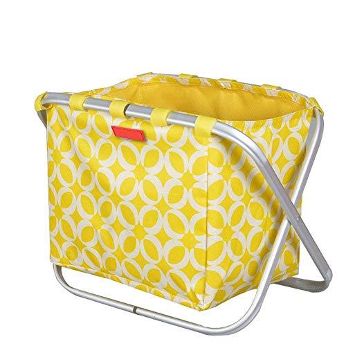 NBVCX Health Personal CarePremium Storage Box con Cesta De Almacenamiento De Escritorio para Juguetes Ropa Accesorios Armario Dormitorio Rack Plegable De Almacenamiento De Residuos Marrón