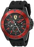 スクーデリア・フェラーリ メンズ カジュアル腕時計 「XX Kers」クオーツ ステンレススチールとシリコン カラー:ブラック (モデル:0830310) [並行輸入品]