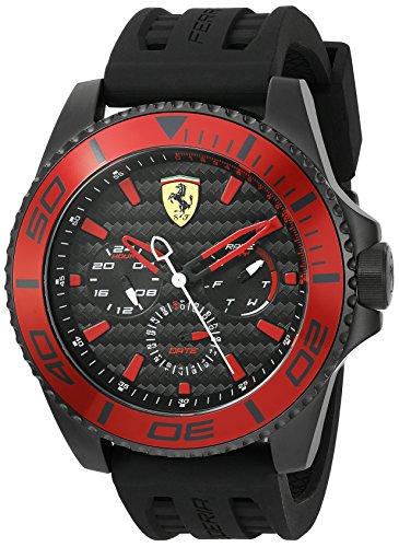 Ferrari Men's 0830310 XX KERS Analog Display Japanese Quartz Black Watch