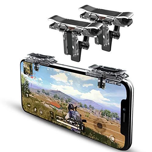 DLseego PUBG Mobile Game Controller Trigger,Auslöser für Mobile Gamecontroller Spiel löst L1R1 für Handy aus Shooter Sensitive Aim & Fire Game Joysticks Trigger für PUBG/Knives Out/Überlebensregeln