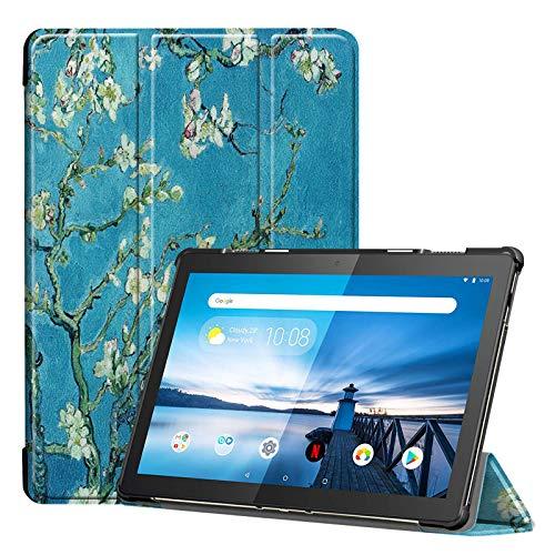 Lobwerk Hülle für Lenovo Tab M10 TB-X605F 10.1 Zoll Schutzhülle Tasche mit Standfunktion & Auto Sleep/Wake Funktion