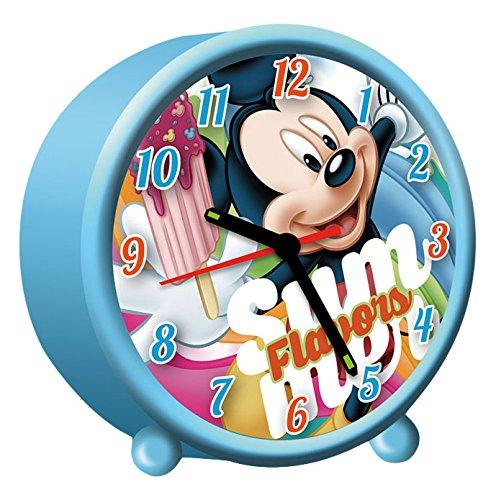 Mickey Mouse – Réveil Rond (Kids Euroswan wd17197)