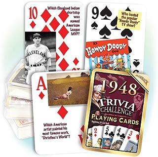 Flickback Media, Inc. 1948 Trivia Playing Cards: 71st Birthday