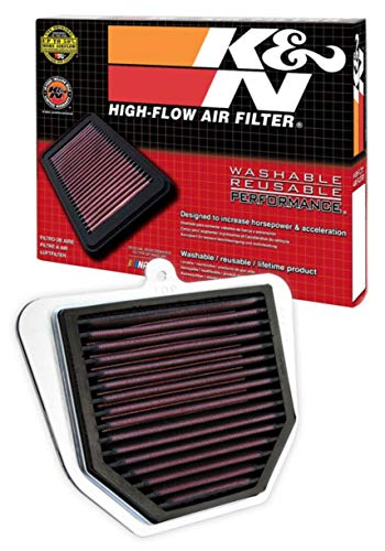 K&N Engine Air Filter: High Performance, Premium, Powersport Air Filter: Fits 2006-2015 YAMAHA (FZ1, FZ1 Fazer, FZ8, FZ1N, FZ1S) YA-1006