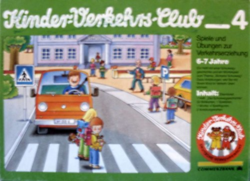 Kinder-Verkehrs-Club 4 - Spiele und Übungen zur Verkehrserziehung [Spielzeug]