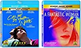 Call Me By Your Name / A Fantastic Woman - LGBT Double Feature Blu-ray Collection