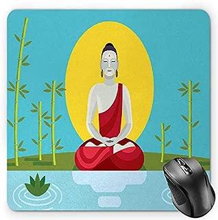 BGLKCS Zen Garden Alfombrilla de Ratón Mouse Pad, Religious ...