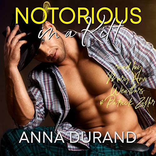 Notorious in a Kilt audiobook cover art