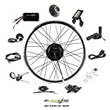 EBIKELING 36V 500W 26' Geared Rear Waterproof Electric Bicycle Conversion Kit (Rear/LCD/Thumb)