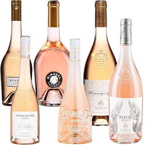Lo mejor de la Provenza - Esclan: Roca Whispering Ángel Ángel y / Rubin: Premium y vida en rosa / Miraval: Estudio Jolie-Pitt - Rosé Côtes de Provence 2019 75cl