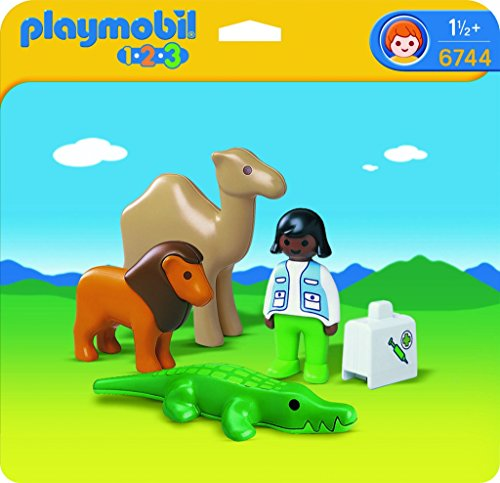 PLAYMOBIL 1 2 3 Veterinario
