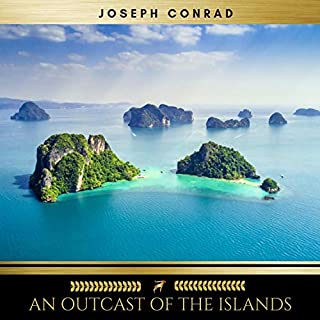 An Outcast of the Islands audiobook cover art