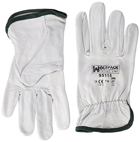 Guantes Piel Marca WOLFPACK LINEA PROFESIONAL