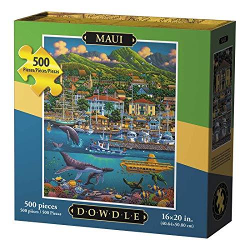 Dowdle Jigsaw Puzzle - Maui - 500 Piece
