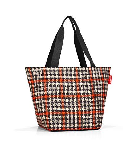 Reisenthel M, Borsa da Shopping Unisex-Adulto, Multicolore (Glencheck Red), 51 Centimeters