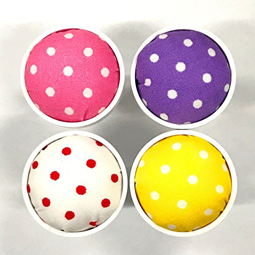 Fantastic Prices! Attachable Pin Cushions (4 Color Set) for Janome Sewing Machines