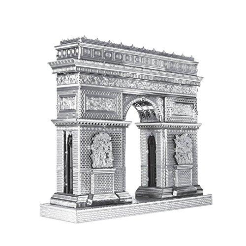 Metal Earth - 5061305 - Maquette 3D - Iconx - Arc De Triomphe - 8 x 4 cm - 2 pièces