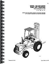 Case 586C Forklift Parts Manual