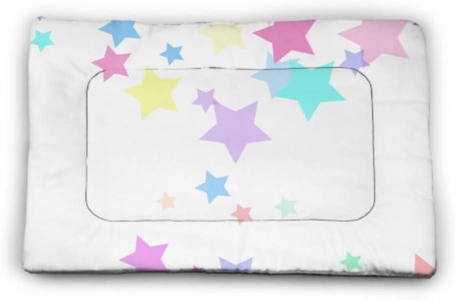 JIUCHUAN Pastel Colorful Stars Inexpensive Overseas parallel import regular item Yellow Do Large Pink Pattern Pet