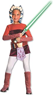 Rubie's Star Wars Clone Wars Child's Ahsoka Tano Costume, Medium