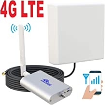 Roomboost AT&T T-Mobile Cell Phone Signal Booster for Home and Office 4G LTE Band12/17 Mobile Phone Signal Amplifier Including RG58 Cable 700MHz Repeater Full Kit
