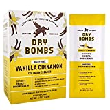 Ladybird Provisions - Vanilla Cinnamon Collagen Creamer Powder, Peptides for Energy & Immune Support, Organic Coconut Oil, Travel Size, Keto, Dairy-Free, No Added Sugar (10 Count.49 oz Packets)