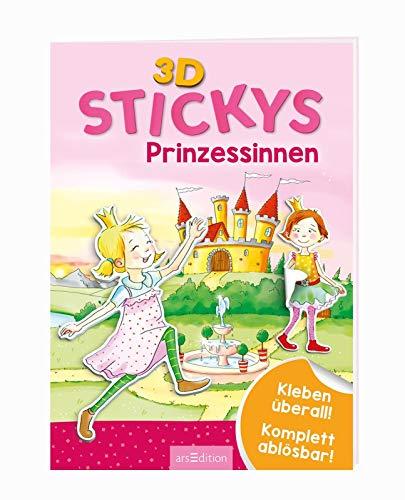 3D-Stickys Prinzessinnen: Kleben überall! - Komplett ablösbar!