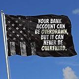 AOTADer Banderas para Exteriores Banderas gastadas de EE. UU. Banderas de Cuentas bancarias para fanáticos del Deporte Fútbol Basketball Béisbol Hockey