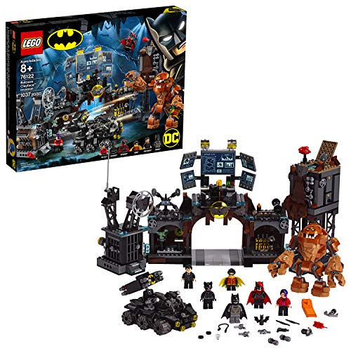 LEGO 76122 DC Batman Batcave Clayface Invasion Collectible Super Heroes Building Toys