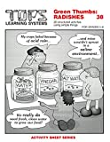 Radishes Activity Sheet Lessons