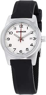 Wenger Field Color Quartz Movement White Dial Ladies Watch 01.0411.133