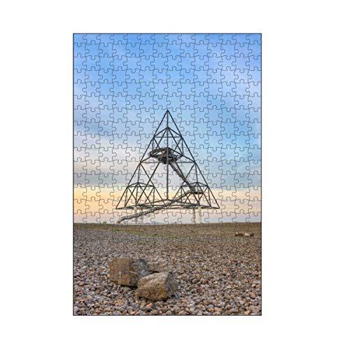 artboxONE-Puzzle M (266 Teile) Reise Tetraeder Bottrop - Puzzle ruhrgebiet Architektur aussichtspunkt