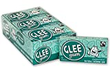 Glee Gum All Natural Peppermint Gum, Non GMO Project Verified, Eco Friendly, 16 Piece Box, Pack of 12