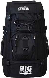Haughton Alexander Mochila extra grande de 120 L para senderismo, camping, mochila de viaje, mochila