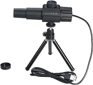 KKmoon単眼望遠鏡 USBスマート 2MP 70Xズーム倍率調節可能な スケーラブル カメラ 三脚スタンド付き usb望遠鏡 撮影 ビデオ 鳥 野生動物 屋外 エントリーレベル
