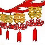 LOVEBLOOD Estilo destacado Fiesta Festiva Decoración de la Boda Estilo Chino Sala de Boda decoración Linterna decoración de Boda Sala de Estar diseño Estilo Chino (Color : Mandarin Duck)