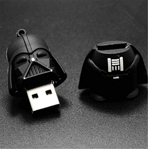 Siempre Estrellas caliente Star Wars dibujos animados Darth Vader usb 2.064GB unidad Flash Memory Stick Pendrive