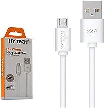 Hytech HY-X83 1m 2A Micro Usb Şarj Kablosu, Beyaz