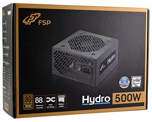 FSP/Fortron PPA5006401 Unidad de - Fuente de alimentación (500 W, 200-240 V, 50-60 Hz, 4 A, Activo, 110 W)