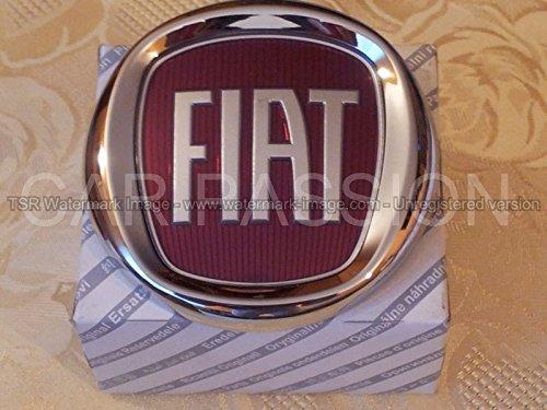 Fiat fregio Stemma Logo Anteriore Compatibile con Grande Punto 500 500L Panda Idea Originale 95mm