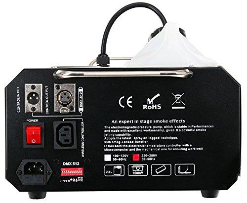 Showlite SN-1500D DMX Nebelmaschine Erfahrungen & Preisvergleich