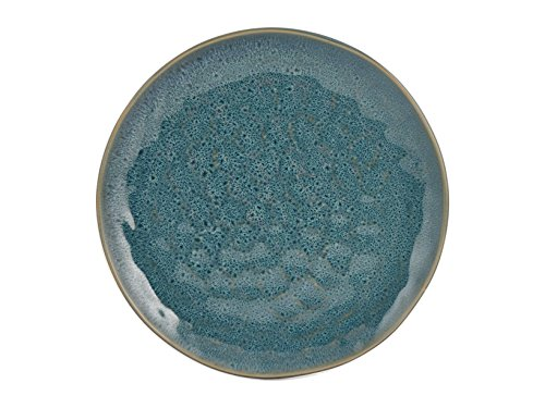 H+H Mykonos Set Teller Obst, Tellern, blau, 4Einheiten