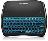 ANEWKODI 2.4GHz Mini Wireless Keyboard with Touchpad, Rechargeable Li-ion...