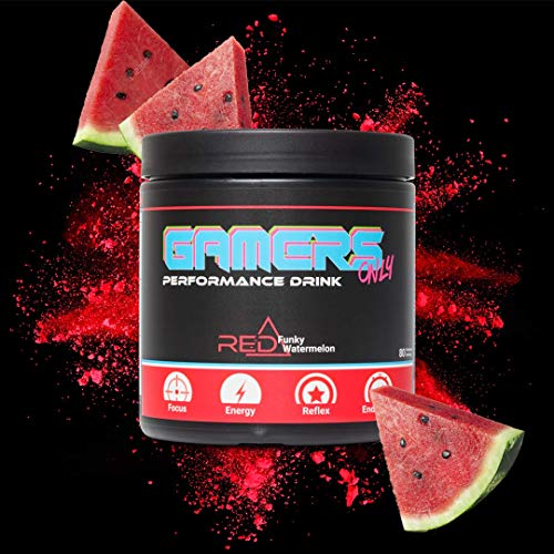 GAMERS ONLY RED Funky Watermelon, 400 g (80 Portionen)