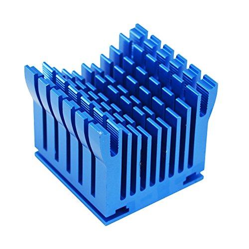 AABCOOLING NB Cooler 1 - Kühlkörper auf Aluminium für Northbridge Kühlung, Mini Passiv Kühler, Heatsink, Cooler, Alu VGA Kühler, Montage für der 40mm Lüfter