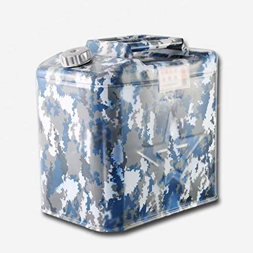 Camouflage, verdikte ijzeren olievat, benzinemotor, 20 liter, 25 liter, 30 liter, Fuel Tank Diesel Pot IJzer, Barrel Autoreservebenzinetank, op reis Benzine Barrel straat anker, eerste hulp, anti-corrosie/anti-roest/anti-slip