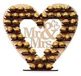 ASVP Shop Mr & Mrs Ferrero Rocher Heart Tree Wedding Display Stand Centrepiece by ASVP Shop