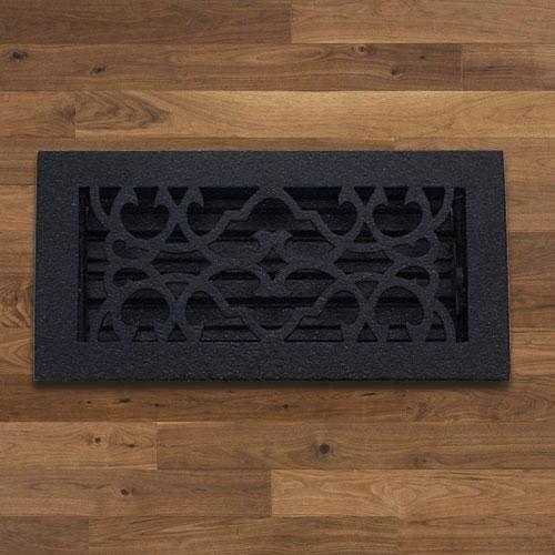 Magnus Home Products Classic Cast Iron Floor Register, 4' x 12', 5.0 lb